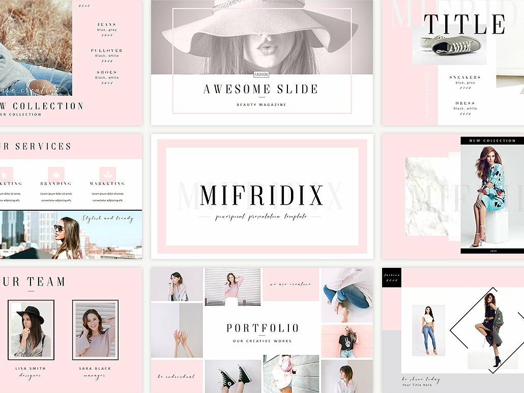 Mifridix Powerpoint Template By Templates On Dribbble