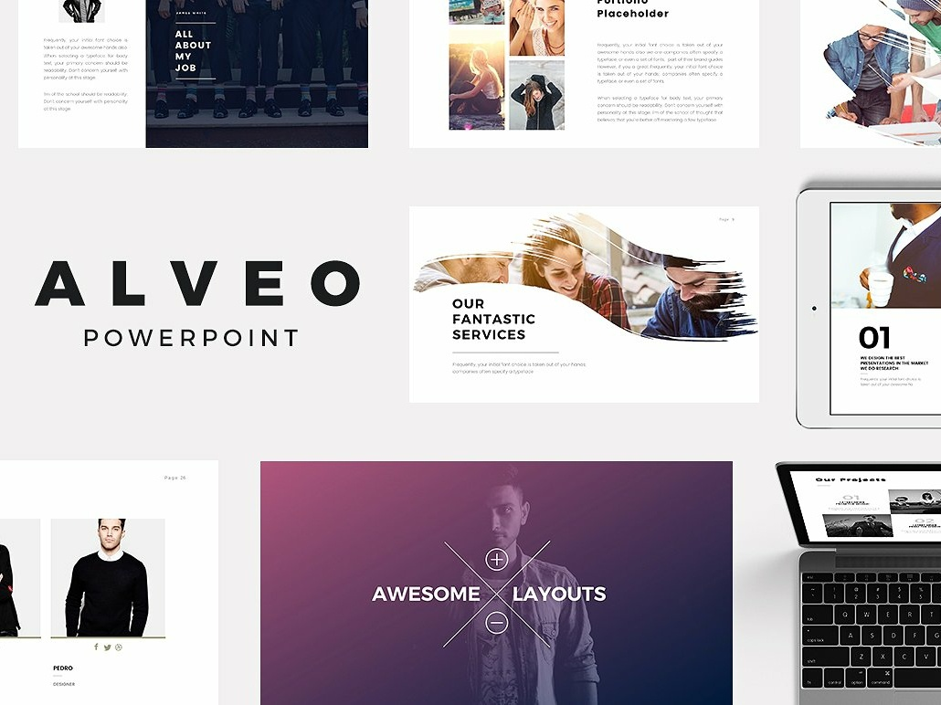 Alveo Minimal Point Template