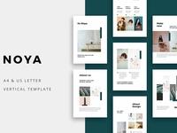 NOYA - Vertical Keynote Template