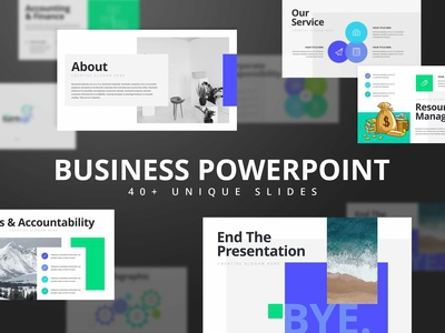Trunup Business PowerPoint Template
