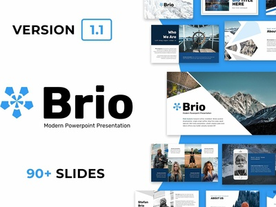 Brio Business Powerpoint Template