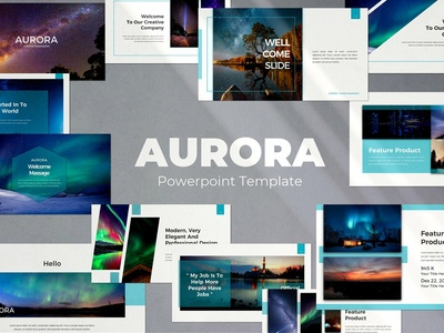 Aurora Powerpoint Template