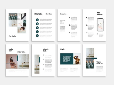 Noya Vertical Powerpoint Template By Templates On Dribbble