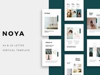 NOYA - Vertical Powerpoint Template