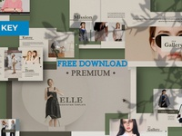 Free Premium Download - Elle Creative Keynote