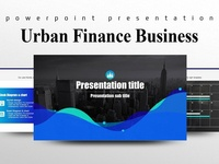 Urban Finance Business PPT Template