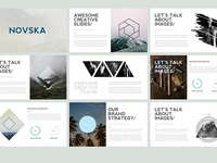 Novska - Modern Powerpoint Template