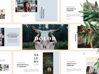 DOLOR - Powerpoint Template