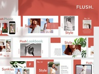 Flush Powerpoint Template
