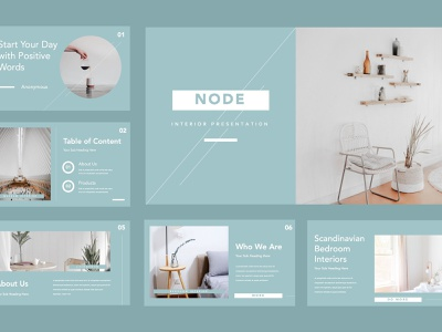 Node Furniture Powerpoint By Templates On Dribbble