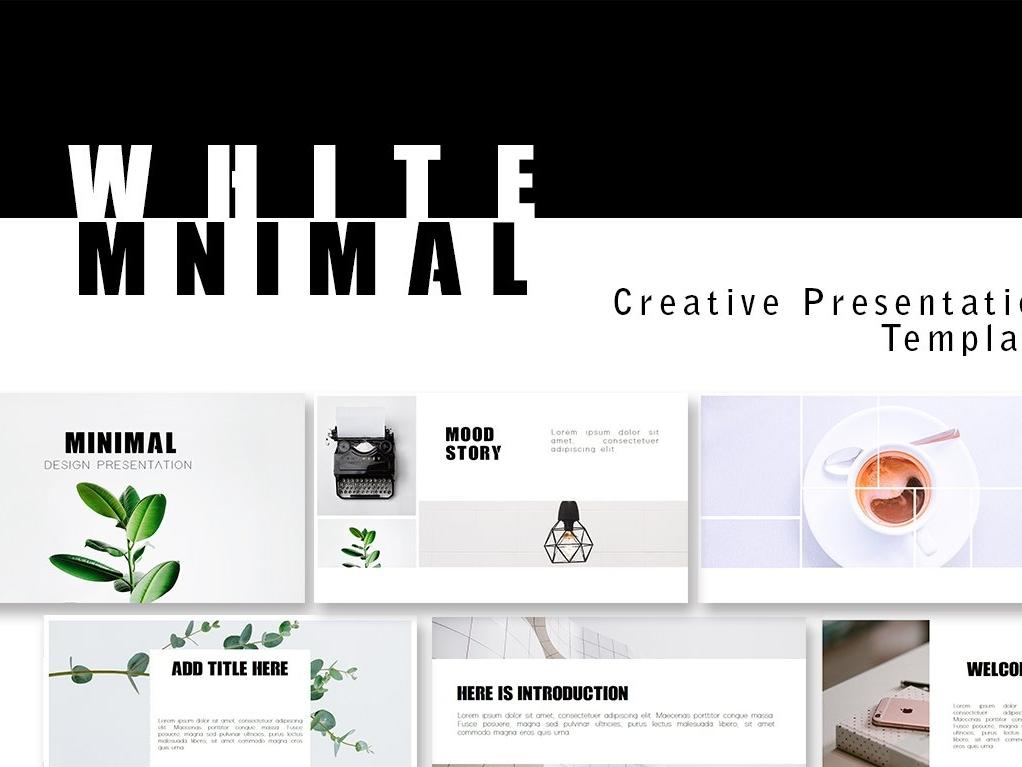 Miniml - Creative Presentation by Templates on Dribbble