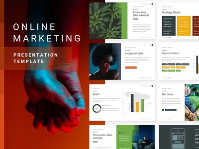 Online Marketing | PPT Template