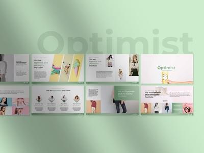 Optimist Powerpoint Templates