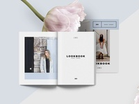 Lookbook / Brochure template - Light
