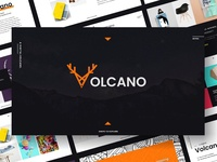 Volcano - Powerpoint Template
