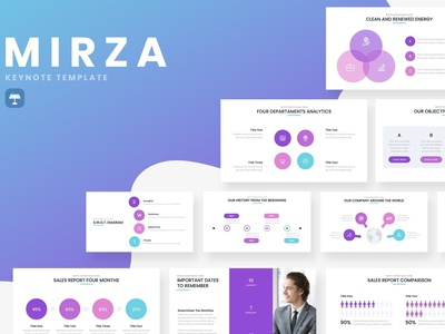 Mirza Business Keynote Template