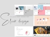 Sleek design PowerPoint Template