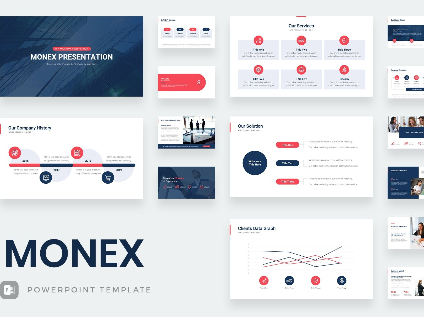 Monex Powerpoint Template By Templates Design Inspiration