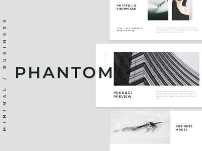 Phantom Minimal PowerPoint Template