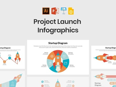 Project Launch Infographics