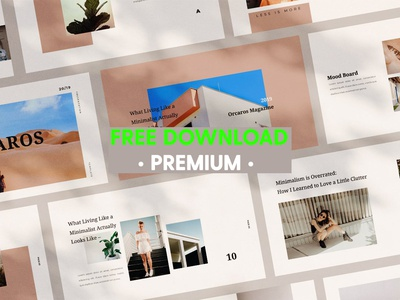 FREE Premium Download - Orcaros Keynote