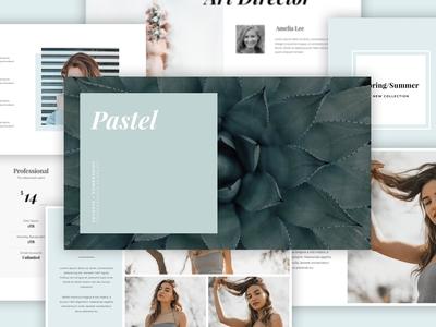 Pastel - Keynote & Powerpoint Template