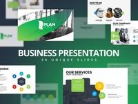 Modern Business Plan PowerPoint