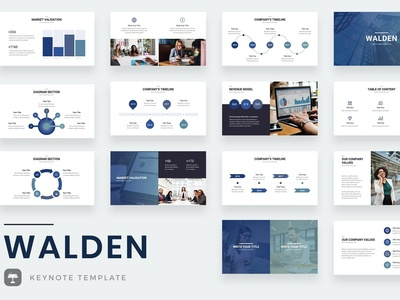 Walden Keynote Template