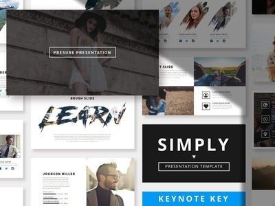 Simply Mnml - Keynote Template