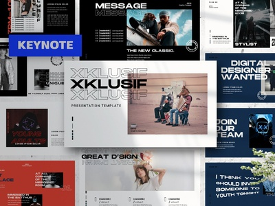 XKLUSIF Keynote Template