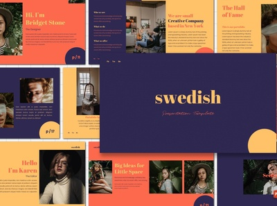 Swedish - Powerpoint Template