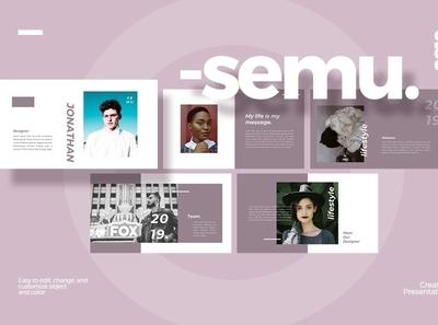 Semu Keynote Template