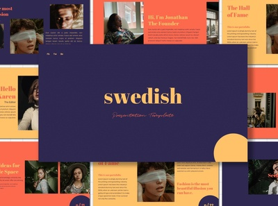 Swedish - Google Slides Template