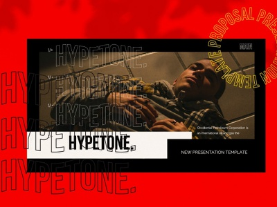 Hypetone Urban Style Powerpoint By Templates On Dribbble