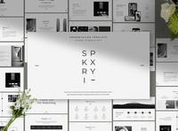 SKRIPXY Clean Presentation Template