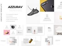 Azzurav Minimal Powerpoint