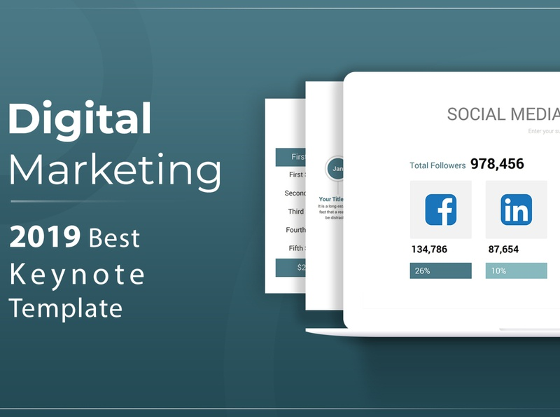 Digital Marketing Keynote Template
