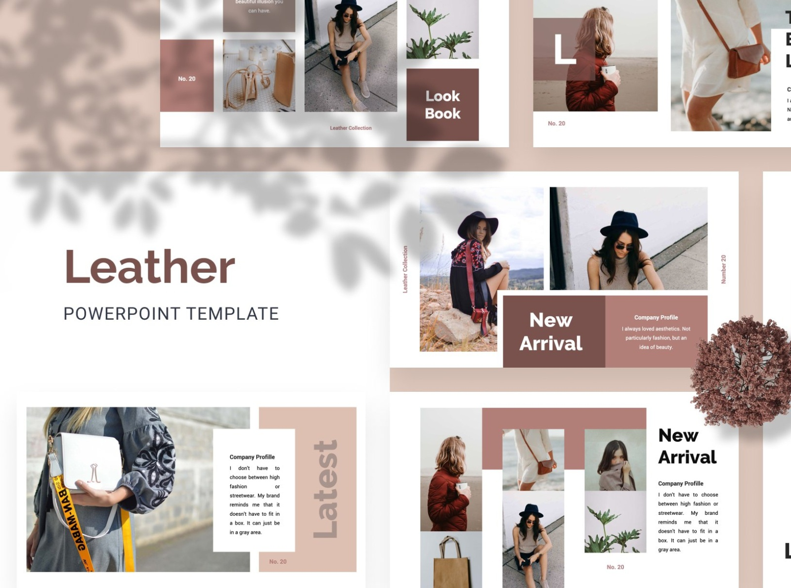 Leather Creative Powerpoint Template By Templates On Dribbble