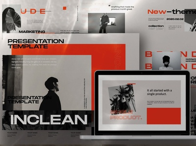 INCLEAN-Minimal Creative Powerpoint