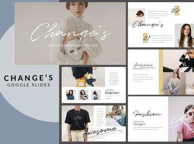 Change - Google Slides Presentation