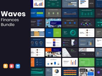 WAVES Finance Presentation Bundle