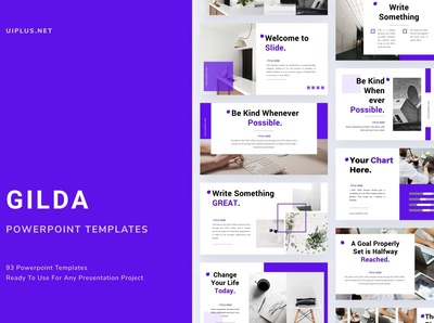 Gilda Creative PowerPoint Templates