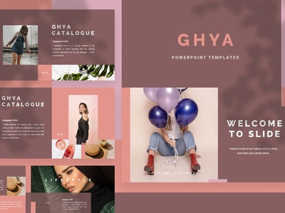Ghya Creative PowerPoint Template