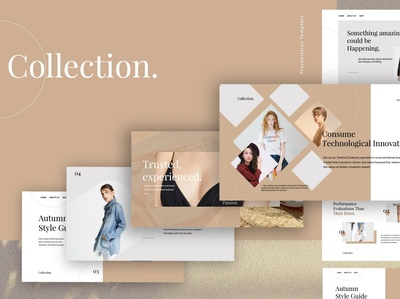 Collection - Fashion Powerpoint