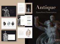 Antique PowerPoint Template