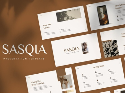 Sasqia - Minimalist Template