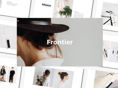 FRONTIER - PowerPoint Template
