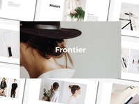 FRONTIER - PowerPoint Template