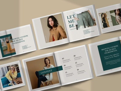 VERSITLE - Fashion Catalogue Design