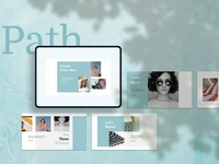 Path Creative PowerPoint Template